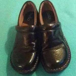 BOHO Black Leather Shoes